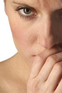 Schlechtes Gewissen beim Essen ist die Folge einer Ess-Störung.