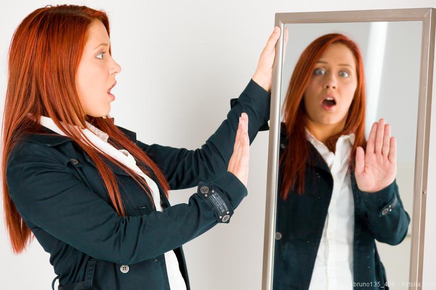 Spiegelbild akzeptieren - ein wichtiger Aspekt beim diätfreien abnehmen